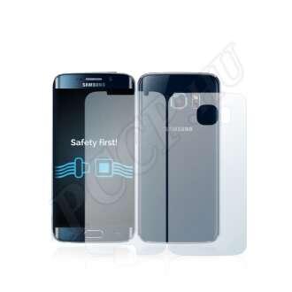 Samsung Galaxy S6 (elő- és hátlap) kijelzővédő fólia