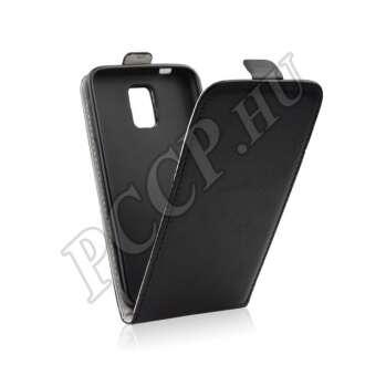 Samsung Galaxy S7 Edge fekete flip tok