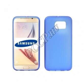 Samsung Galaxy S7 Edge kék vékony szilikon hátlap