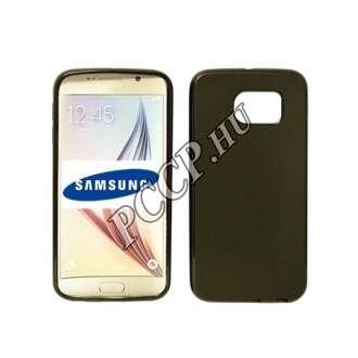 Samsung Galaxy S7 fekete vékony szilikon hátlap