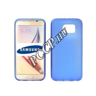 Samsung Galaxy S7 kék vékony szilikon hátlap