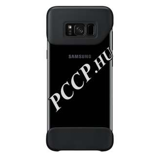 Samsung Galaxy S8 Plus fekete hátlap 2 darabos