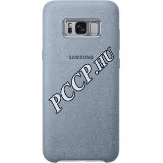 Samsung Galaxy S8 Plus menta bőr hátlap