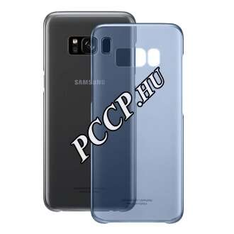 Samsung Galaxy S8+ kék clear cover tok