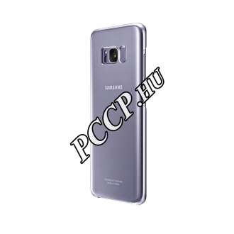 Samsung Galaxy S8+ lila clear cover tok