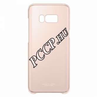 Samsung Galaxy S8 Plus pink clear cover tok