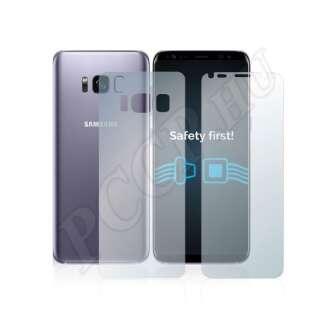 Samsung Galaxy S8 (elő- és hátlap) kijelzővédő fólia