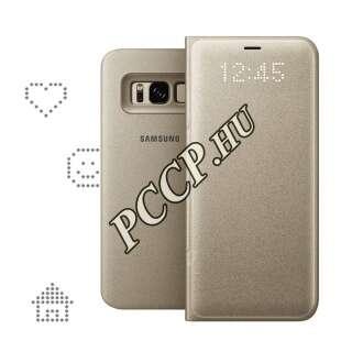 Samsung Galaxy S8 arany led view cover
