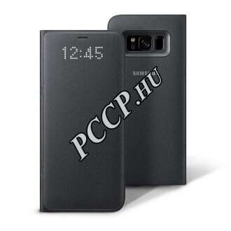 Samsung Galaxy S8Plusz  fekete led view cover