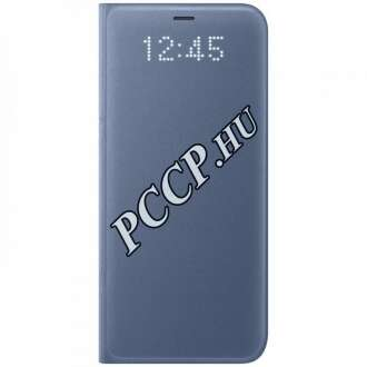 Samsung Galaxy S8 Plus kék led view cover tok