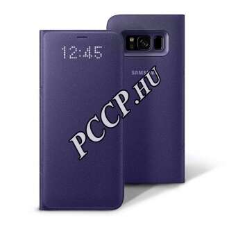 Samsung Galaxy S8+ lila led view cover tok