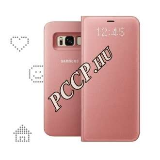 Samsung Galaxy S8 pink led view cover