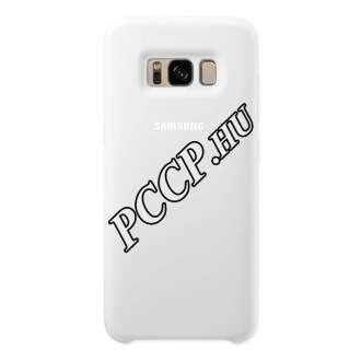 Samsung Galaxy S8 fehér szilikon védőtok