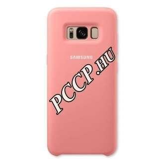 Samsung Galaxy S8+ pink szilikon védőtok