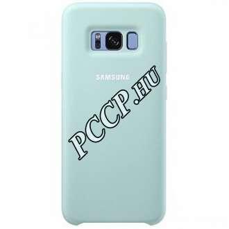 Samsung Galaxy S8 Plus kék szilikon védőtok (hátlap)