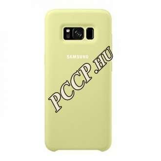 Samsung Galaxy S8 zöld szilikon védőtok (hátlap)