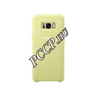 Samsung Galaxy S8 Plus zöld szilikon védőtok (hátlap)