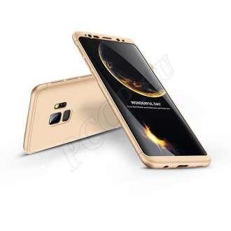 Samsung Galaxy S9 arany három részből álló védőtok