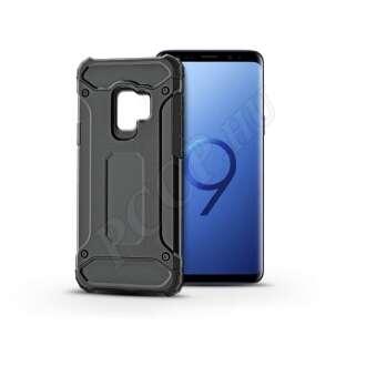 Samsung Galaxy S9 fekete ütésálló hátlap
