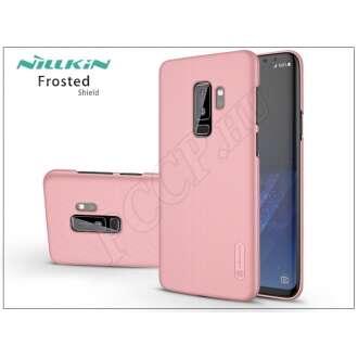 Samsung Galaxy S9 Plus rosegold hátlap kijelzővédő fóliával