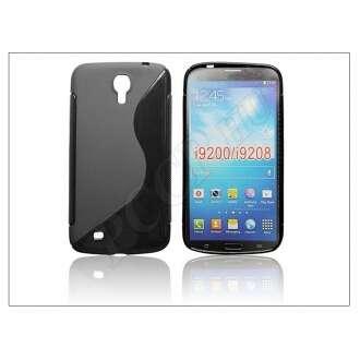 Samsung Galaxy Mega 6.3 fekete szilikon hátlap