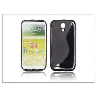 Samsung Galaxy S4 fekete szilikon hátlap