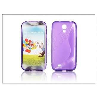 Samsung Galaxy S4 lila szilikon hátlap