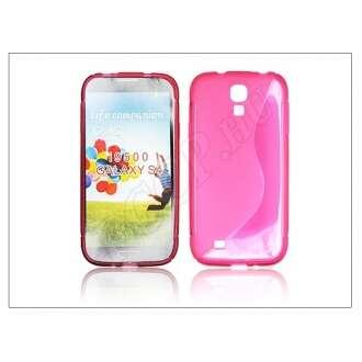 Samsung Galaxy S4 pink szilikon hátlap
