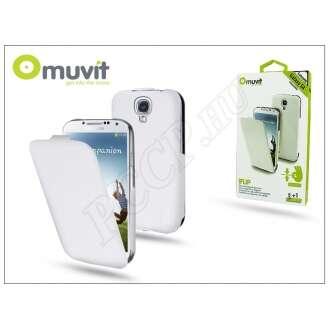 Samsung Galaxy S4 (I9500) fehér ultra vékony flip tok