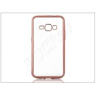 Samsung Galaxy J1 (2016) rosegold szilikon hátlap