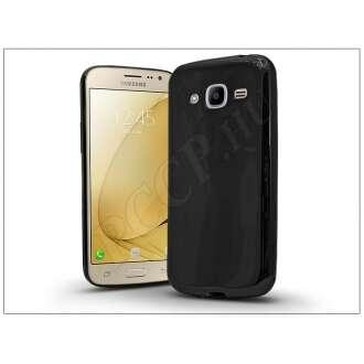 Samsung Galaxy J2 (2016) fekete szilikon hátlap