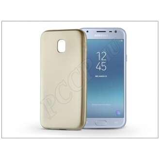 Samsung Galaxy J3 (2017) arany szilikon hátlap