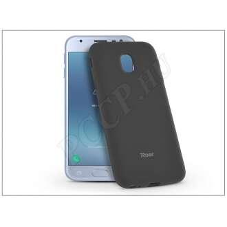 Samsung Galaxy J3 (2017) fekete szilikon hátlap