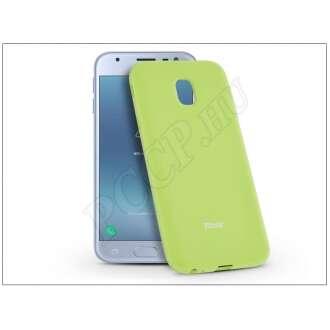 Samsung Galaxy J3 (2017) lime szilikon hátlap