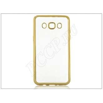 Samsung Galaxy J5 (2016) arany szilikon hátlap