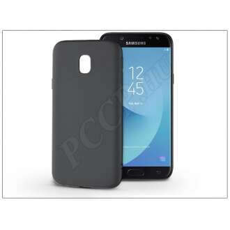 Samsung Galaxy J5 (2017) fekete szilikon hátlap