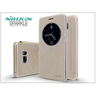Samsung Galaxy Note 7 arany oldalra nyíló flip tok