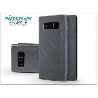 Samsung Galaxy Note 8 fekete oldalra nyíló flip tok