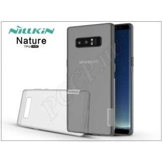 Samsung Galaxy Note 8 szürke szilikon hátlap