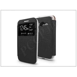 Samsung Galaxy Trend 2 Lite fekete oldalra nyíló flip tok
