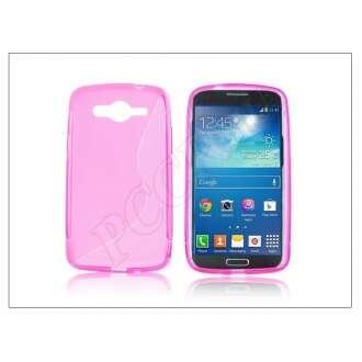 Samsung Galaxy Core pink szilikon hátlap