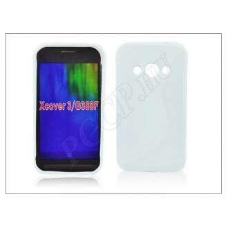 Samsung Galaxy Xcover 3 fehér szilikon hátlap