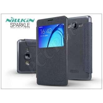 Samsung Galaxy On5 fekete oldalra nyíló flip tok