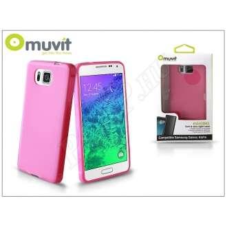 Samsung Galaxy Alpha pink hátlap