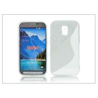 Samsung Galaxy S5 Active átlátszó szilikon hátlap