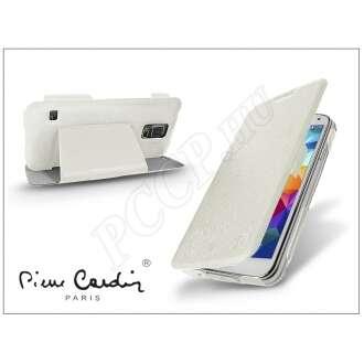 Samsung Galaxy S5 fehér flip tok