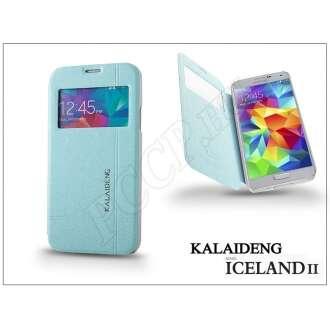 Samsung Galaxy S5 kék flip tok