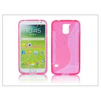 Samsung Galaxy S5 pink szilikon hátlap