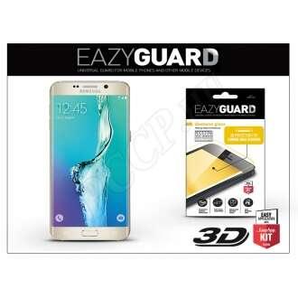 Samsung Galaxy S6 Edge gyémántüveg kijelzővédő fólia arany színben