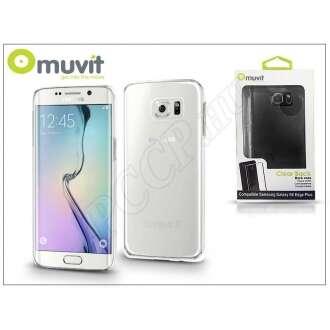 Samsung Galaxy S6 Edge+ átlátszó hátlap